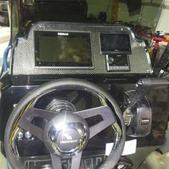 Simrad & RIB Steering System