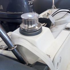 Locally made custom cray pot holder for a happy customer