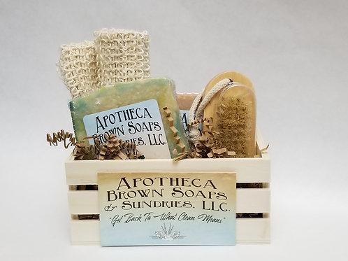 Cute Crate Gift Basket