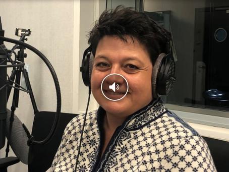Karin Niederberger bei Radio SRF
