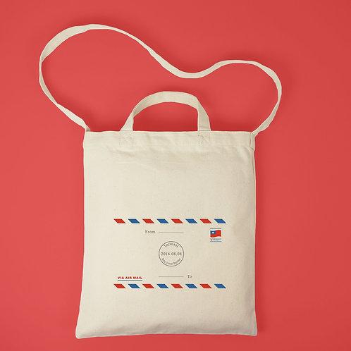 國際信封-帆布肩背袋
