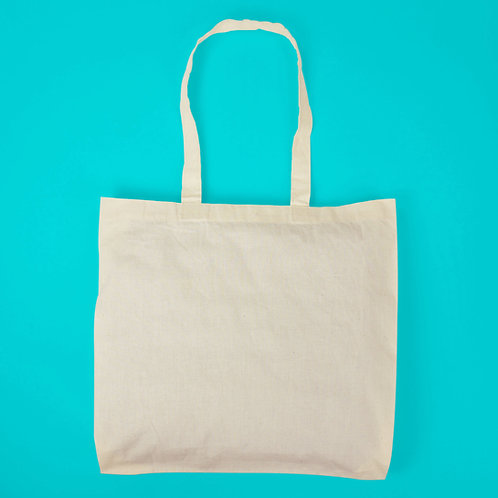 青菜在這 / 純棉 胚布 購物袋