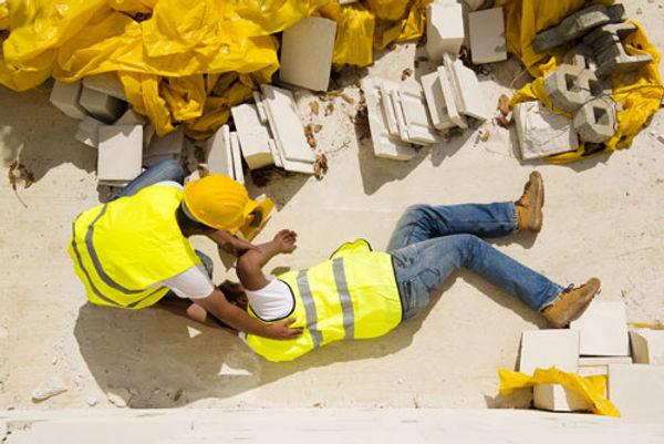Chuted'un homme du BTP - Accidents du travail et maladies professionnelles