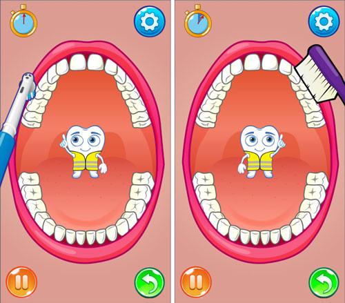 Jeu de brossage de dents