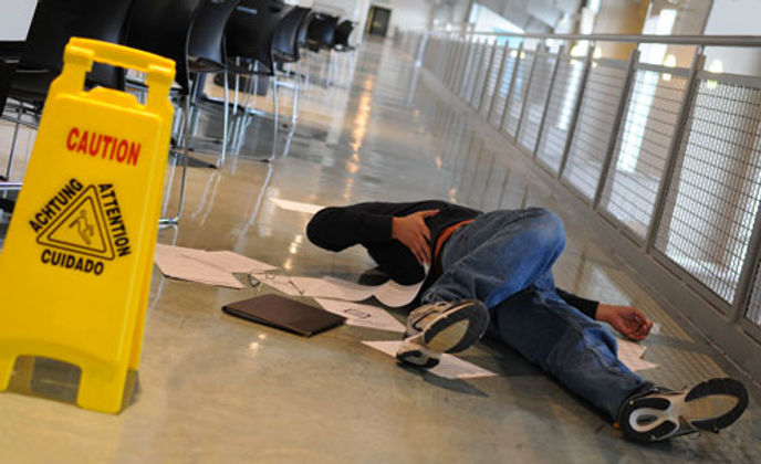 glissade incapacité travail - Accidents du travail et maladies professionnelles