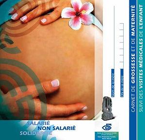 La CPS met à disposition de toutes les femmes enceintes « un carnet de grossesse de maternité et de suivi des visites médicales de l'enfant ».