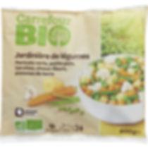 Les hypermarchés développent leur gamme de produits BIO surgelés qui séduisent de plus en plus de consommateurs soucieux de leur santé.