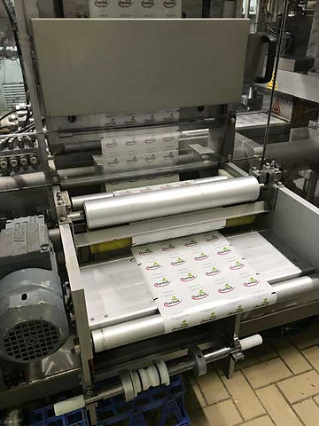 Impression des étiquettes de la Laiterie Sachet à Tahiti