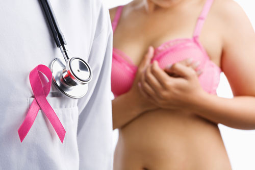 Examen mammaire