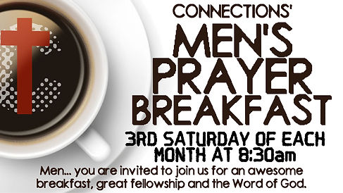 MEN'S PRAYER BREAKFAST 3RD SATURDAY ANNO