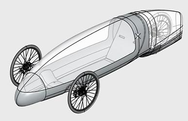 Shell Eco Marathon Car