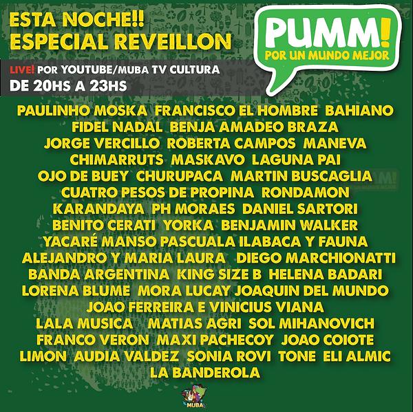 PUMM line up reveillon.png