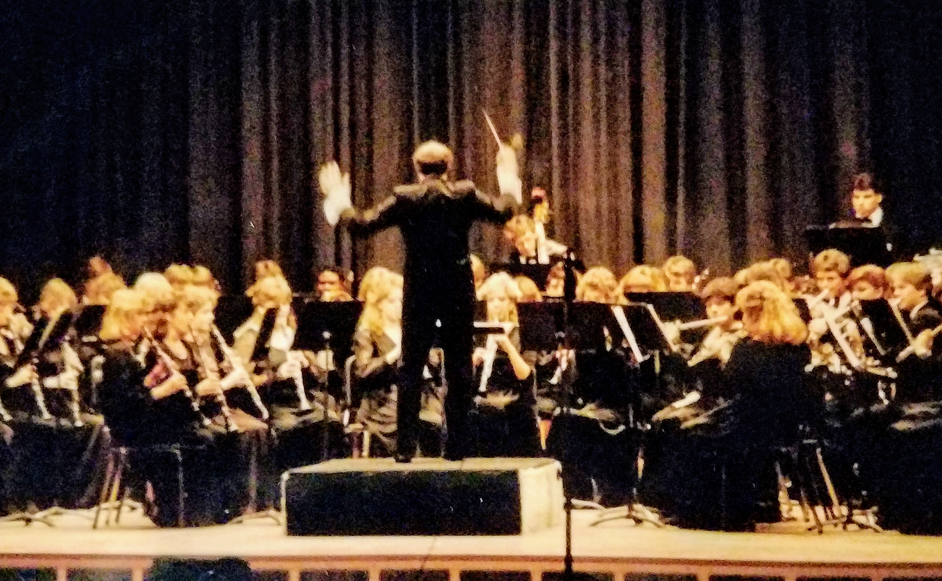 Mr. Nail conducting
