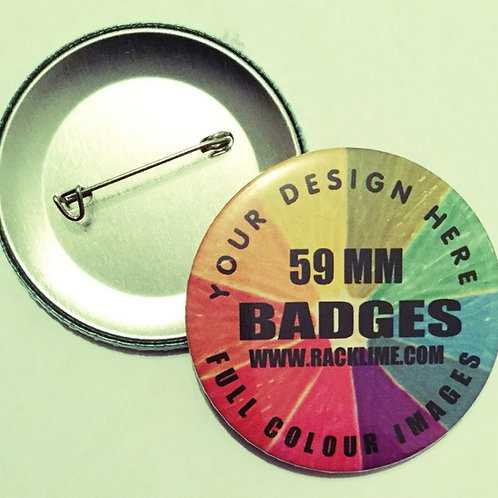 BADGES - PIN BACK