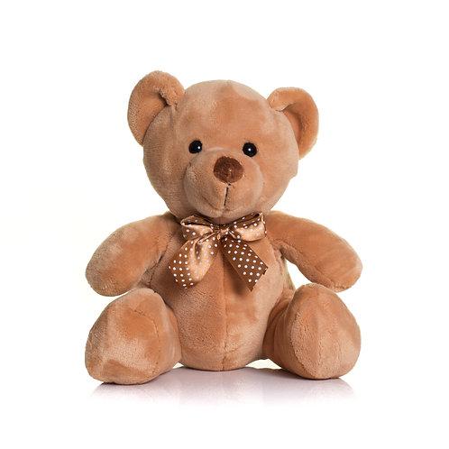 MUMBLES BROWN VELVET BEAR