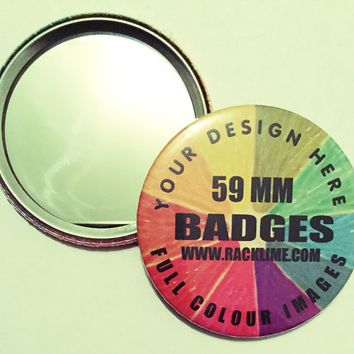 BADGES - MIRROR BACK