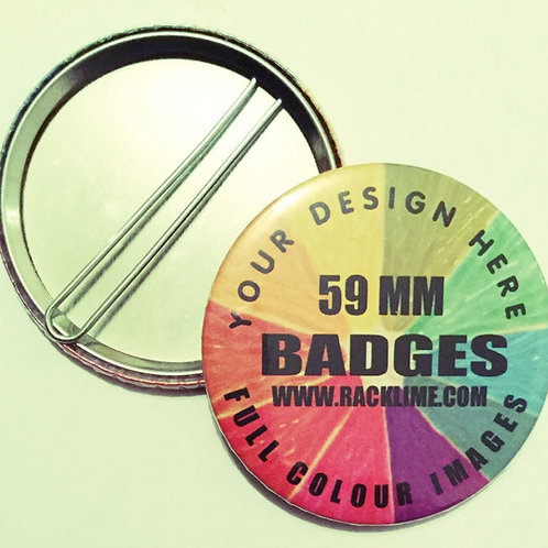 BADGES - SAFETY BACK