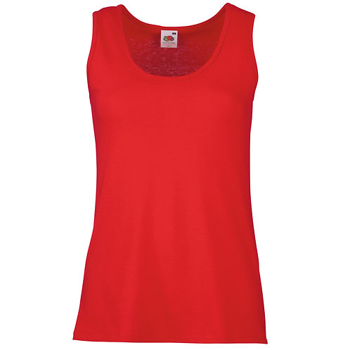 FRUIT OF THE LOOM WOMANS ATHLETIC VEST