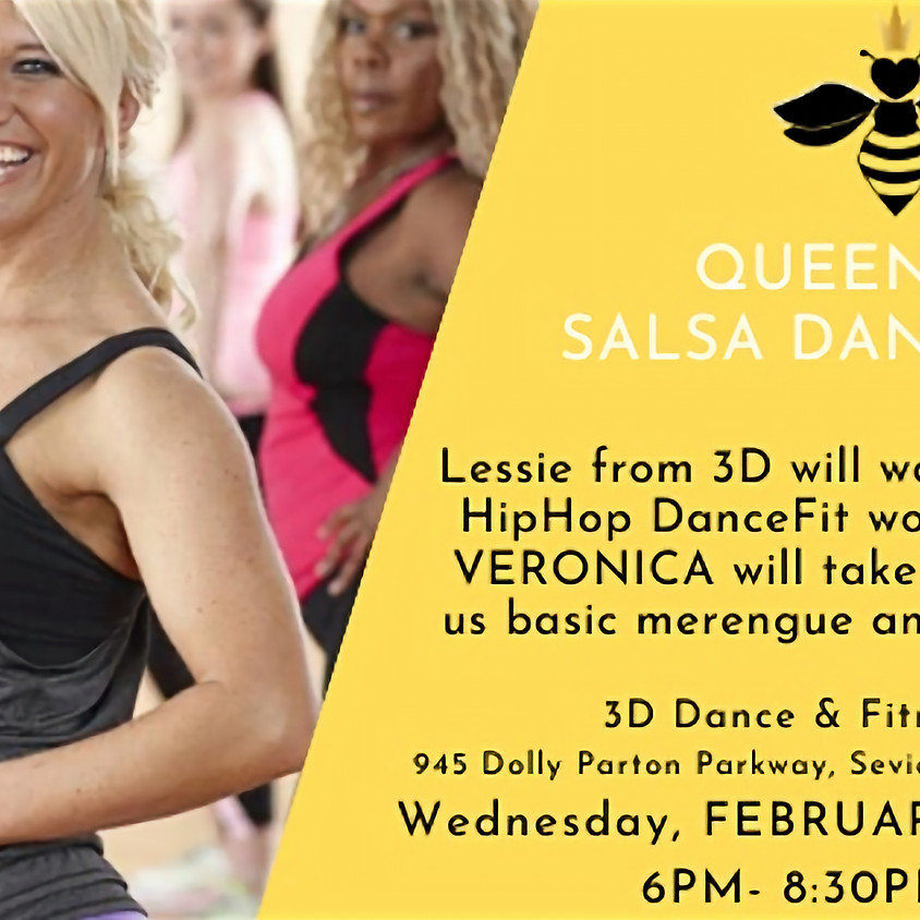TENNESSEE: Queen Bees Salsa Dance Party