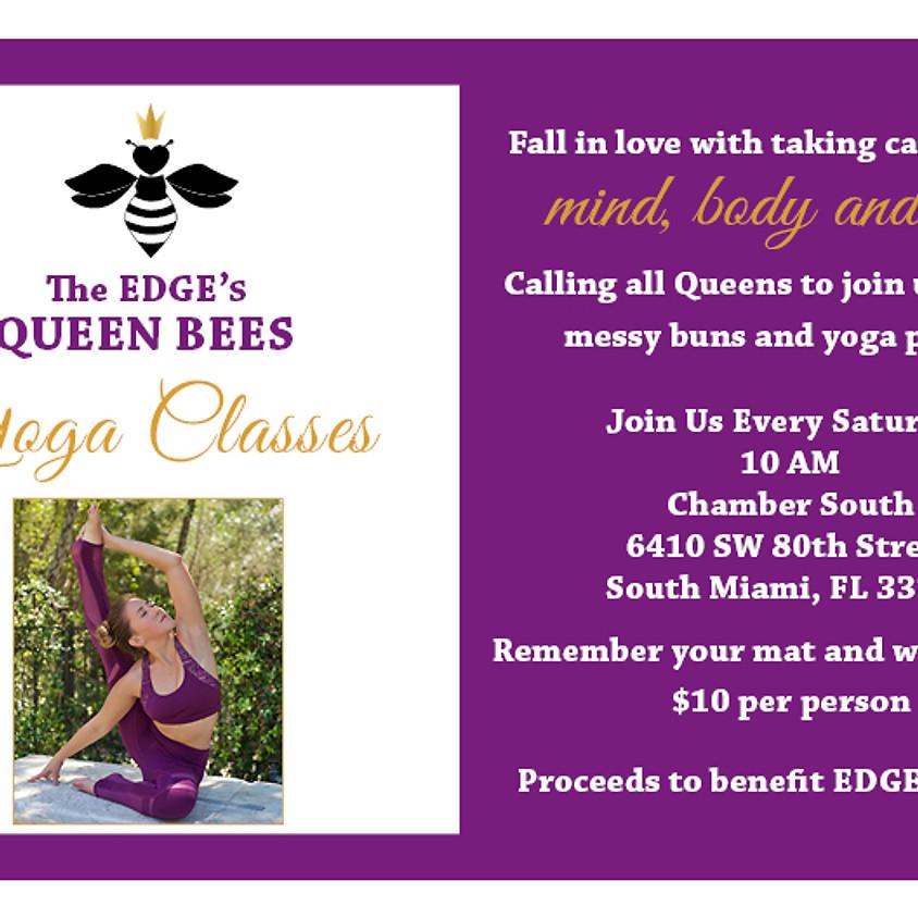 The EDGE's Queen Bees YOGA