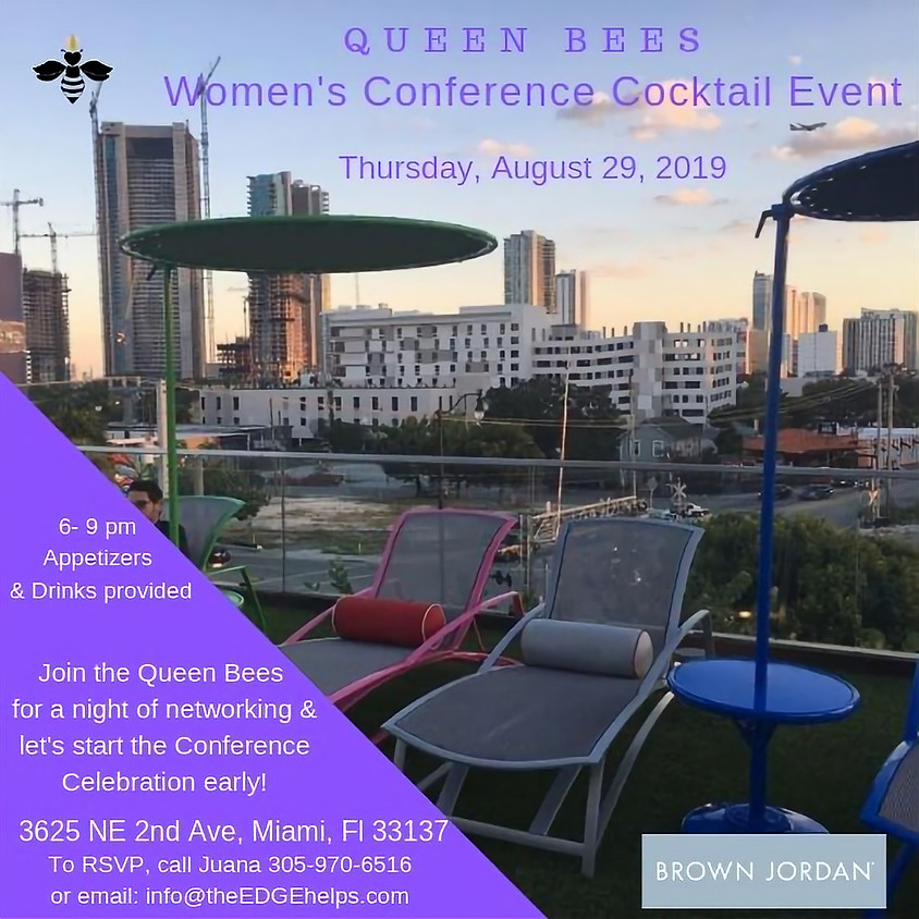 Queen Bees Miami: Women's Conference Cocktail Event