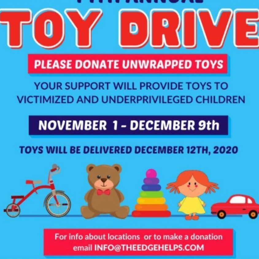 2020 Holiday Toy Drive Collection Begins