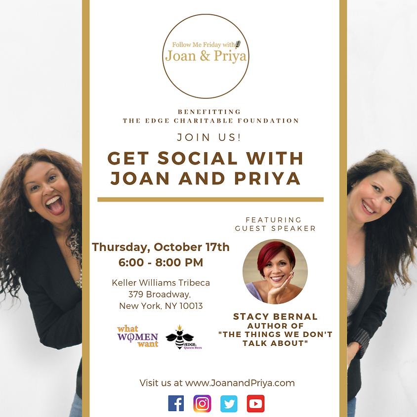 Queen Bees New York: Get Social with Joan & Priya
