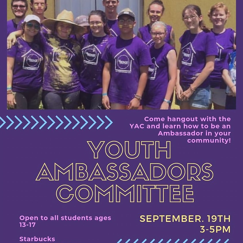 Youth Ambassador Committee Informational