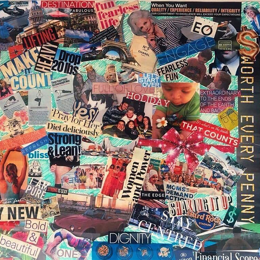 Queen Bees Vision Board