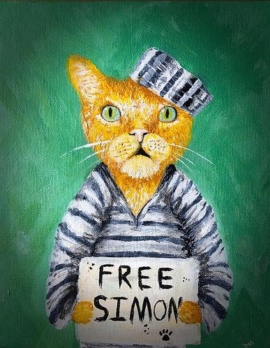 Free Simon! 8 x 10 Print