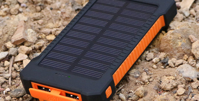 Cargador Portatil Banco De Bateria Solar Dragon 20000 Mah
