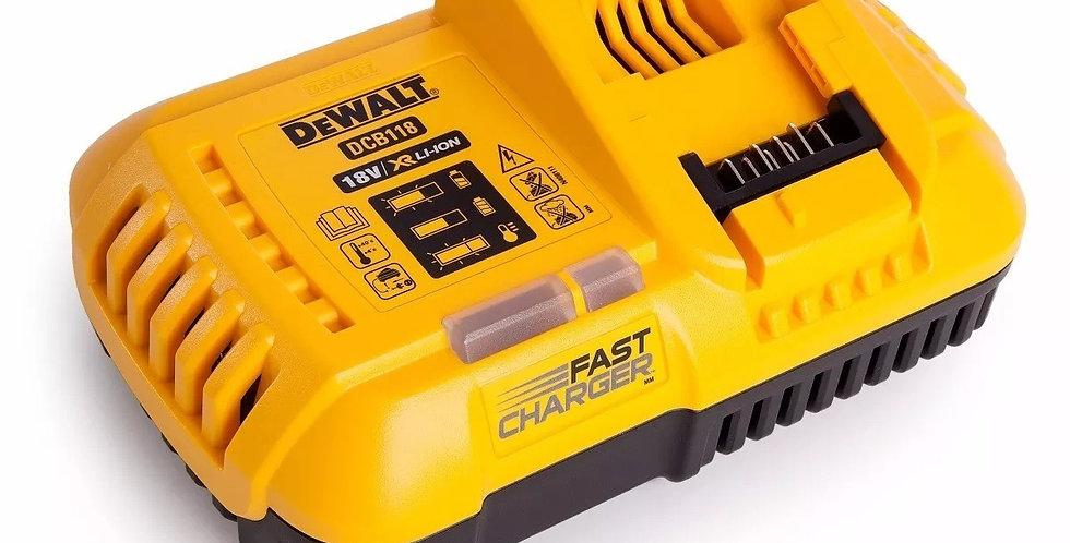Cargador De Bateria Dewalt 20 Volt 8a Dcb118 110v