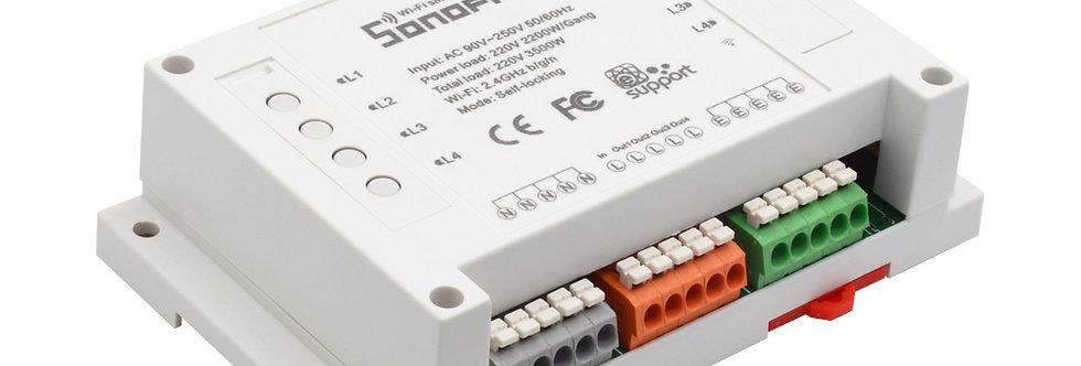 Sonoff 4ch Interruptor Inteligente Wifi