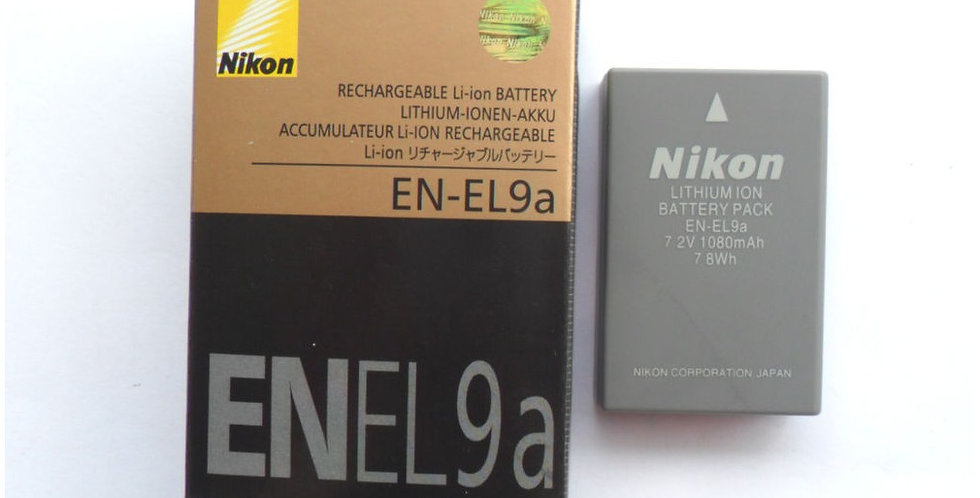 Bateria Nikon En-el9a En-el9 En El 9 D3000 D5000