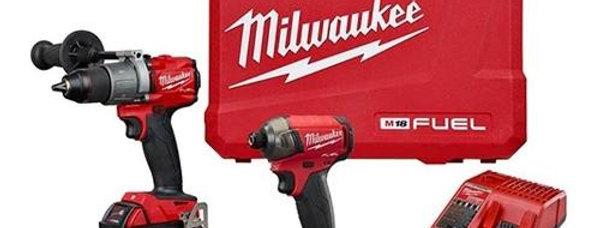 Taladro Percutor Y Atornillador Milwaukee 18v Fuel 2 Bat 1.5
