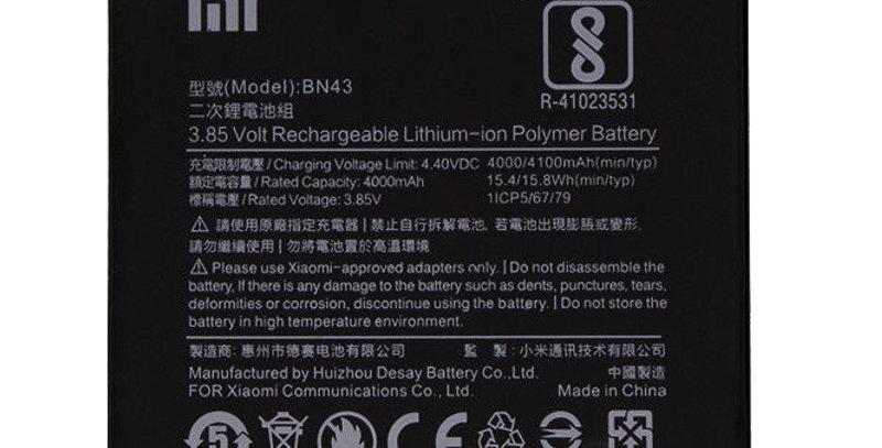 Bateria Xiaomi Redmi Note 4 Bn43 Bn-43