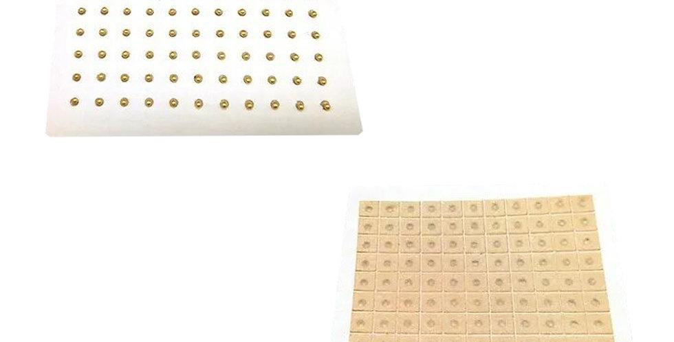 Balines De Oro Esfera Auriculoterapia X121 Piel