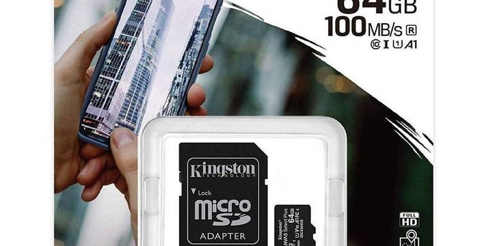 Tarjeta De Memoria 64gb Kingston