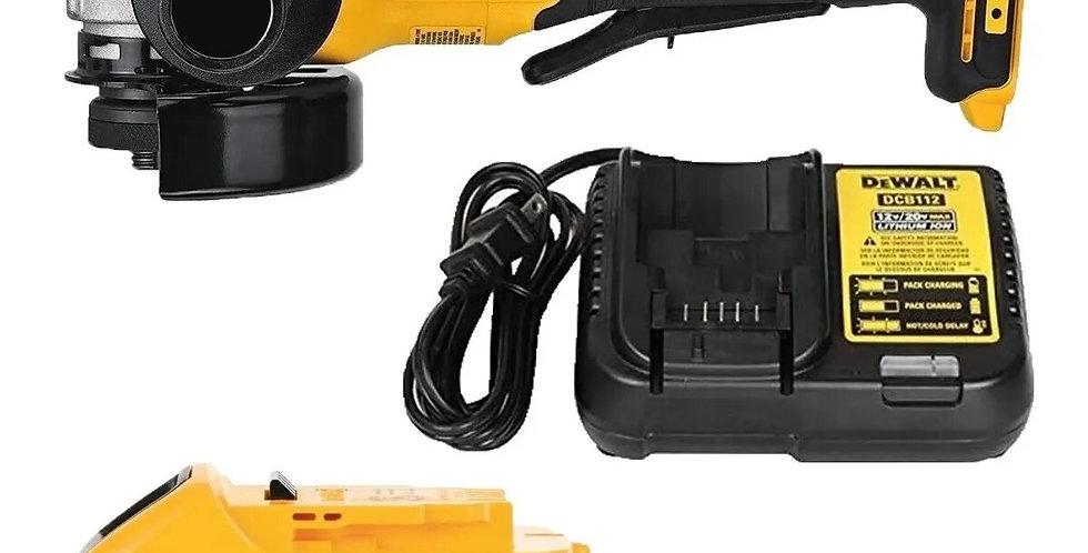Amoladora Dewalt Xr 20v Dcg413b C/bateria 3 Amp
