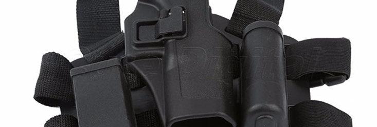 Canana Glock 17,19,22 Auto Bloqueo  Polimero