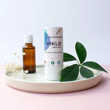 Natural Deodorant TeaTree & Palmarosa