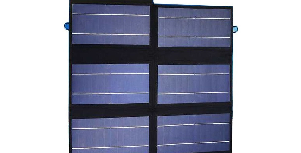 Panel Solar 50w Plegable Impermeable