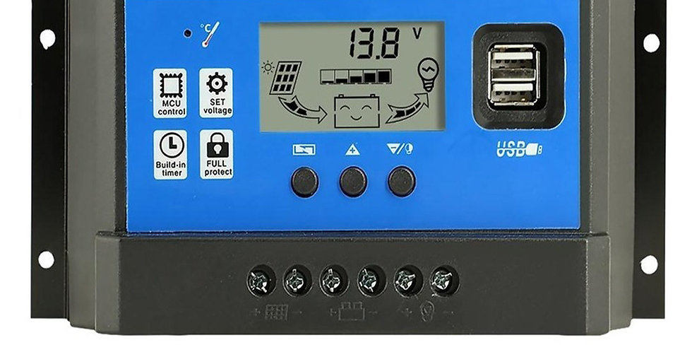 Regulador Panel Solar 30 Amp