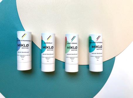 MIKLØ Bodycare: produits de beauté éco-responsables fabriqués en Belgique