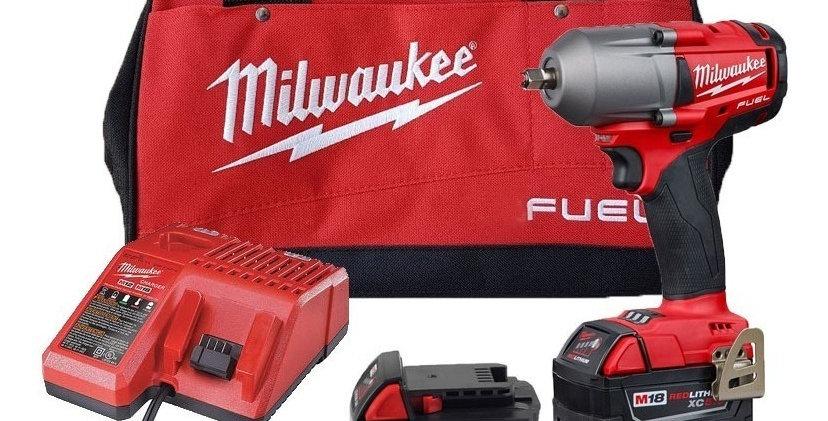 Llave Impacto Atornillador 450 Libras Milwaukee