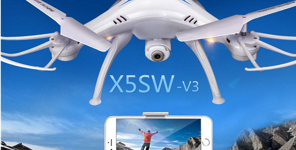 Drone Quadcoptero Syma X5sw Con Camara Hd