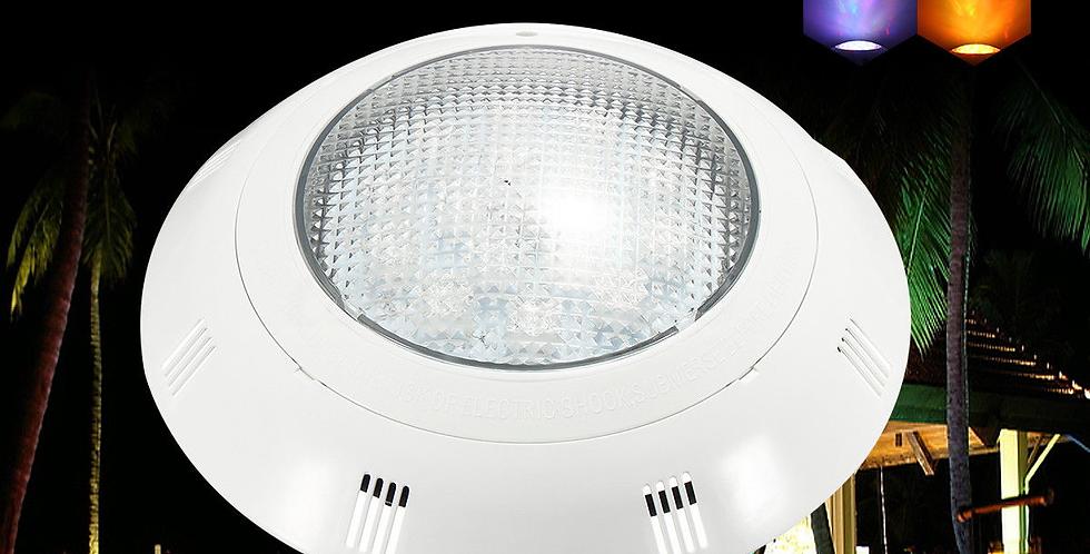 Lampara Foco Led Para Piscina Rgb Con Control 33w