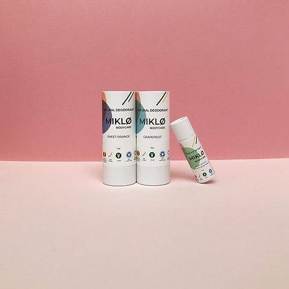 Set van 2 deodorants & 1 gratis lippenbalsem