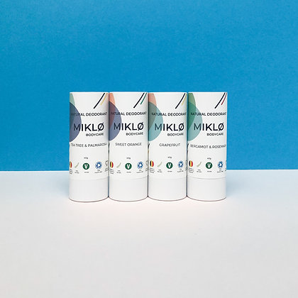 Set van 4 deodorants (1 gratis)