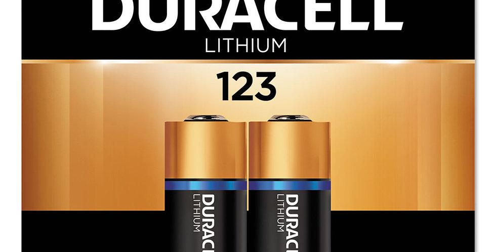 Pilas Duracell Dl123 Cr17345 3v